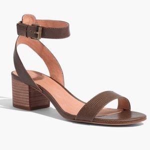 Madewell Alice Heeled Leather Sandals